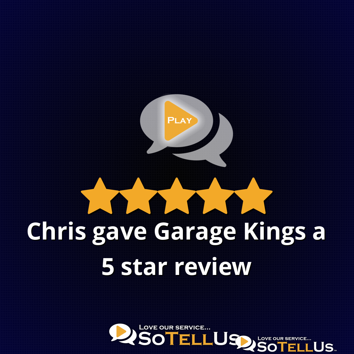 Chris P Gave Garage Kings Of Raleigh A 5 Star Review On