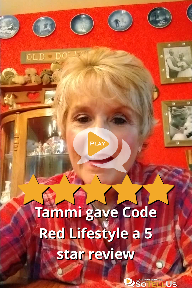 Tammi P Gave Code Red Lifestyle A 5 Star Review On SoTellUs